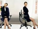 Hrbtenici prijazni pisarniški stoli
